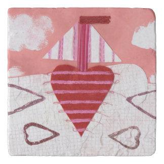 Loveheart Boat Trivet