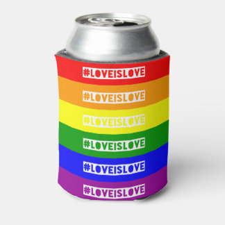 #LoveIsLove hashtag can cooler