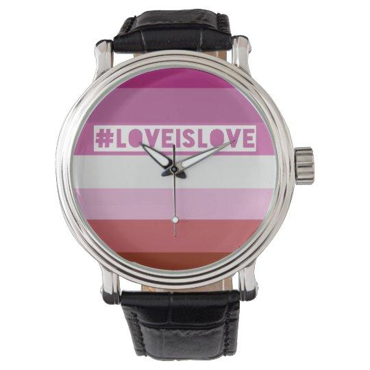#LoveIsLove hashtag watch