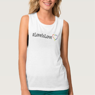 LoveIsLove Muscle Tank Top