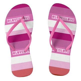 #LoveIsLove thongs Flip Flops