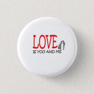 LoveKiss - Botton 1 Inch Round Button