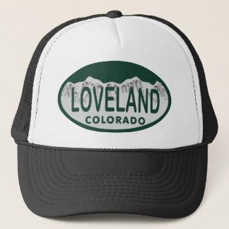 Loveland license oval trucker hat
