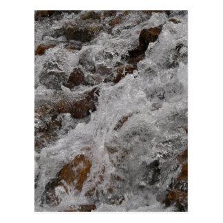 Loveland Pass Waterfall Postcard