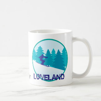Loveland Ski Circle Personalized Coffee Mug