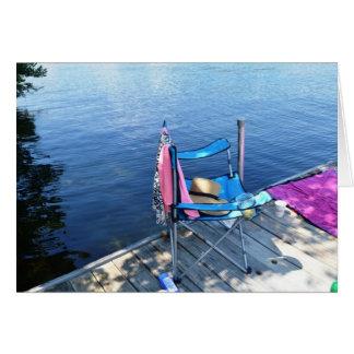 Lovell Lake, Wakefield, NH Card