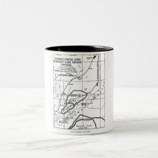Lovelock Caves Two-Tone Coffee Mug