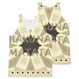 Lovely African Hakuna Matata Print Design