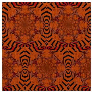 Lovely African Zebra Print Motif design Fabric