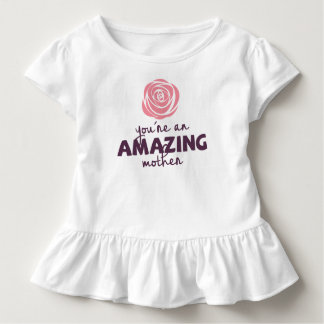 Lovely Amazing Mother Mother's Day | Ruffle Tee