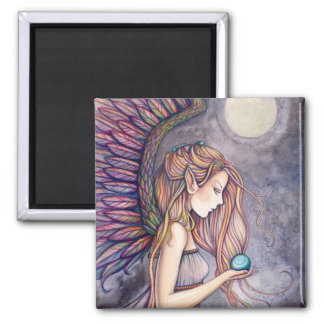 Lovely Angel Magnet by Molly Harrison