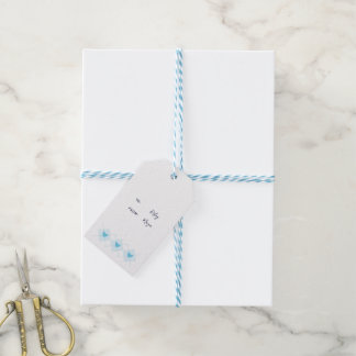 Lovely Argyle Gift Tags