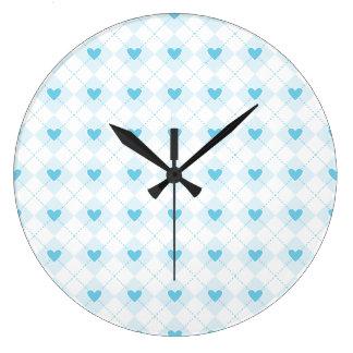 Lovely Argyle Large Clock