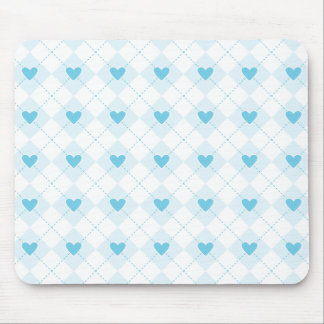 Lovely Argyle Mouse Pad