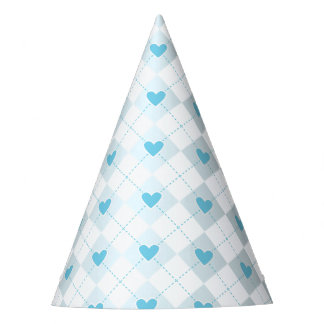 Lovely Argyle Party Hat