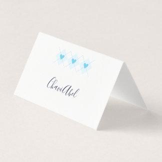 Lovely Argyle Place Card