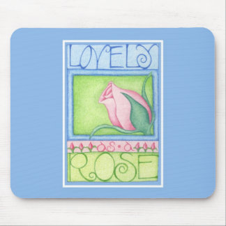 Lovely as a Rose Mousepad