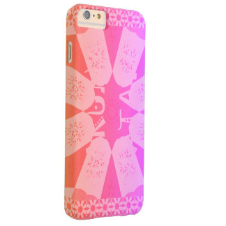 Lovely Baby Pink Barely There iPhone 6 Plus Case