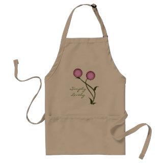 Lovely Blooms Apron, Lavender