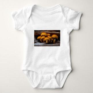 Lovely Bunch of Wild Mushrooms Baby Bodysuit