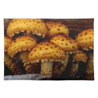 Lovely Bunch of Wild Mushrooms Placemat