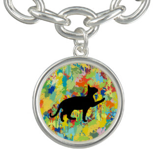 Lovely Cat Colorful Splash Complet Bracelets