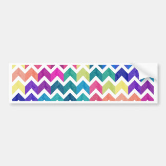 Lovely Chevron Bumper Sticker