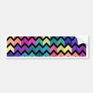 Lovely Chevron II Bumper Sticker