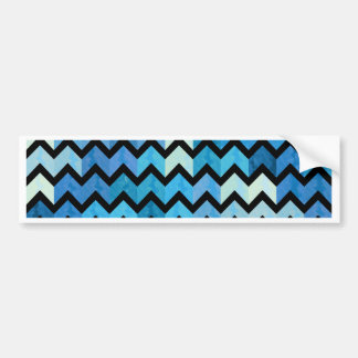 Lovely Chevron III Bumper Sticker