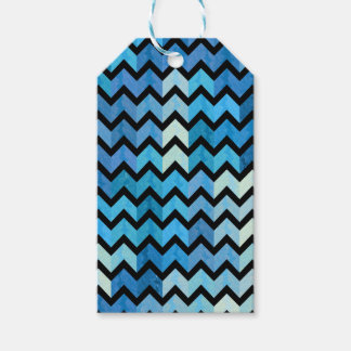 Lovely Chevron III Gift Tags