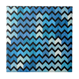 Lovely Chevron III Tile