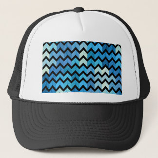 Lovely Chevron III Trucker Hat