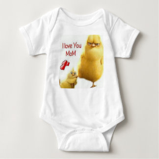 Lovely chick baby bodysuit