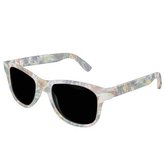 Lovely Colors Floral Sunglasses