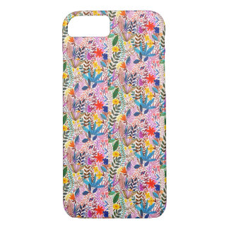 Lovely colourful leaves  iPhone 8/7, Barely There Case-Mate iPhone Case