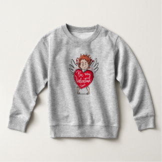 Lovely Cupid's Be My Valentine | Sweatshirt
