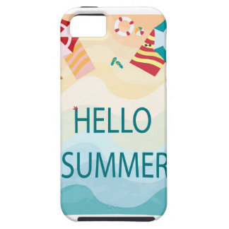 Lovely cute adorable sea beach funny item case for the iPhone 5