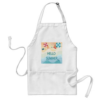 Lovely cute adorable sea beach funny item standard apron