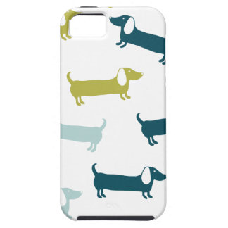 Lovely dachshunds in great colors iPhone 5 cover