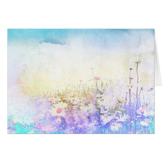 Lovely daisy meadow card