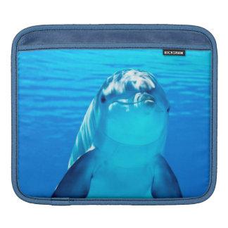 Lovely Dolphin Underwater Sea Life iPad Sleeves