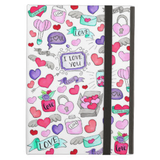 Lovely doodle iPad air cover