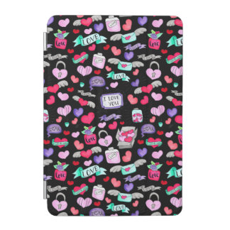Lovely doodle iPad mini cover