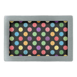 Lovely Dots Pattern IX Belt Buckles