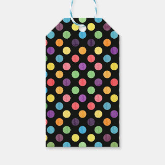 Lovely Dots Pattern IX Gift Tags