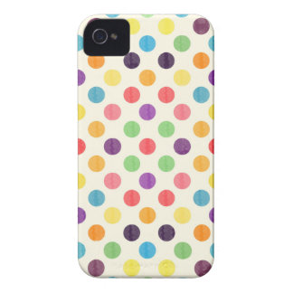 Lovely Dots Pattern VII Case-Mate iPhone 4 Case
