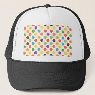 Lovely Dots Pattern VII Trucker Hat