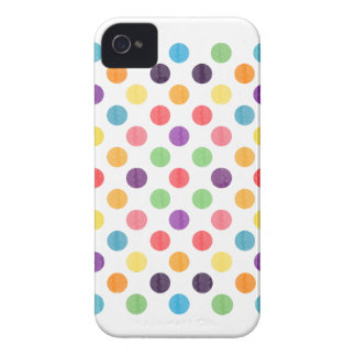 Lovely Dots Pattern VIII iPhone 4 Cover