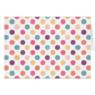 Lovely Dots Pattern XI Card
