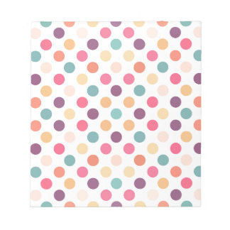 Lovely Dots Pattern XI Notepad